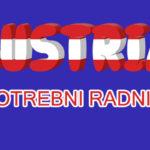 POSAO AUSTRIJA – 2.600€ plus dodaci – 14. plata u godini, smeštaj, radna dozvola